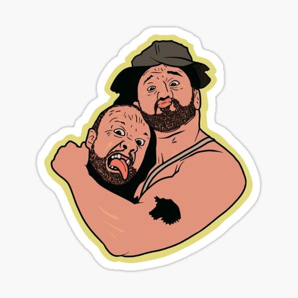 Luke & Butch Sticker