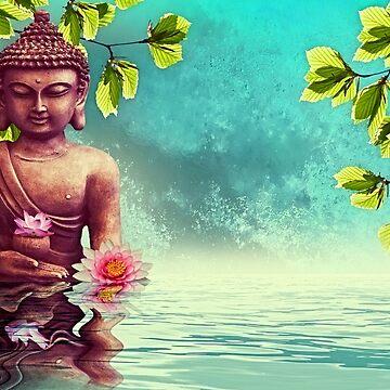 Buddha Zen Morning  by ImageMonkey