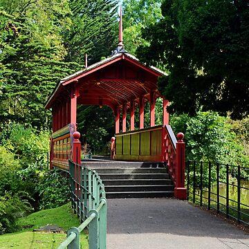 Birkenhead Park - Swiss Bridge by Retiree