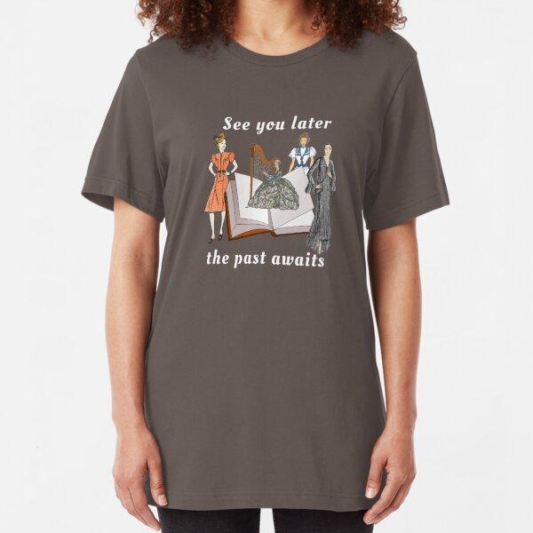 Historical fiction awaits Slim Fit T-Shirt