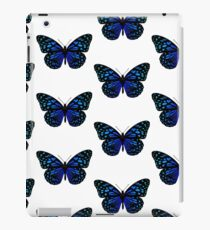 Beautiful butterfly in blue shades iPad Case/Skin
