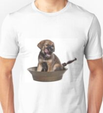 Funny Brown Puppy Unisex T-Shirt