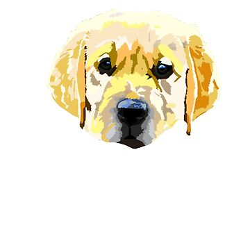 golden retriever rotoscope puppy by chateauteabag