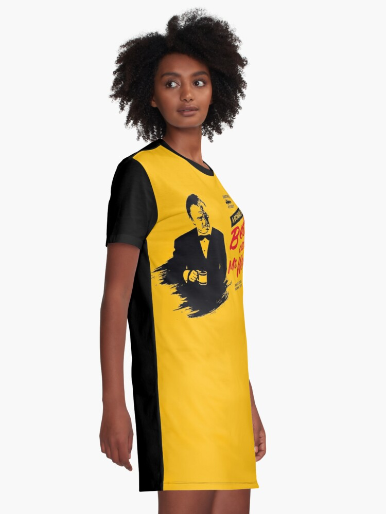 Alternate view of Better Call Mr. Wolf Graphic T-Shirt Dress