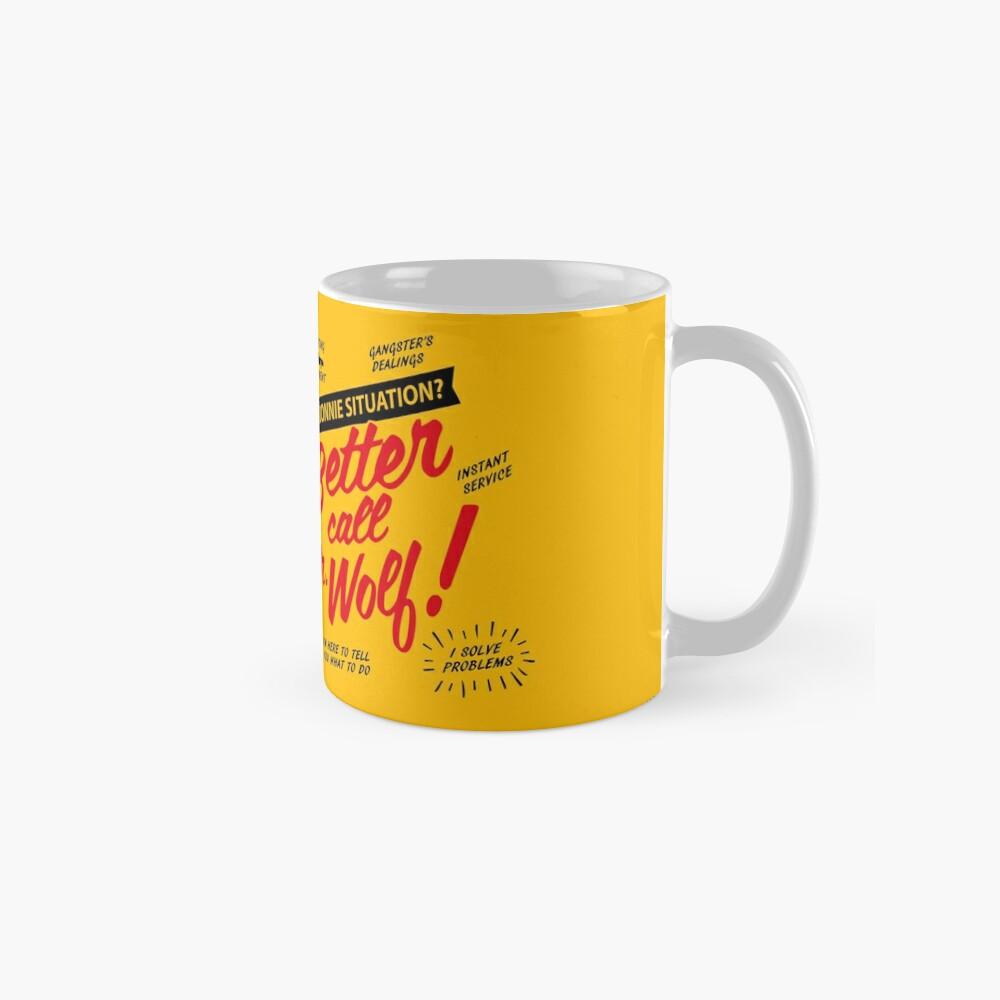 Better Call Mr. Wolf Mugs