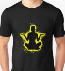 Silhouette young yellow and black silhouette Unisex T-Shirt