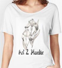 Art 2 Plunder Logo 2 Women's Relaxed Fit T-Shirt