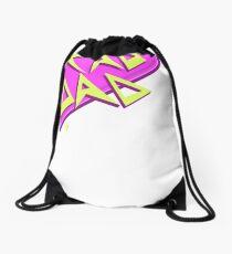 Rad Dad- Pink Drawstring Bag