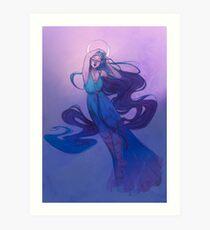 Selene - griechische Göttin des Mondes Kunstdruck