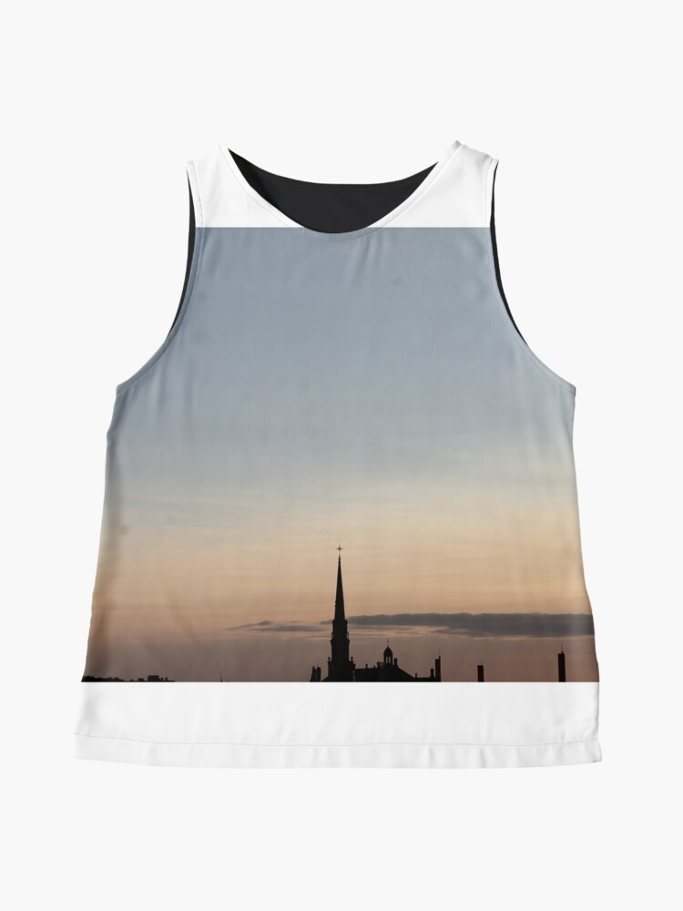 Alternate view of #Quebec, #Canada, Quebec #City, #Streets, #Buildings, #Places, #QuebecCity Sleeveless Top