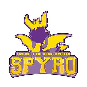 Spyro logo by Summermint