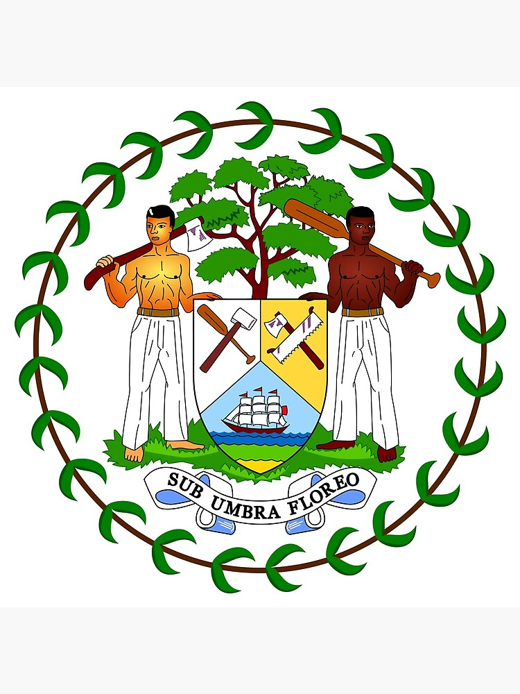 Coat of arms of Belize by fourretout