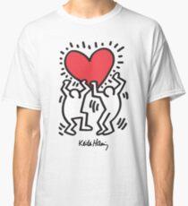 Keith Haring, Heart, Dancing Classic T-Shirt