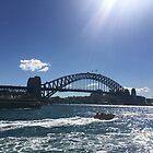 Sydney Harbour Bridge, Sydney, Australia by Mariam Kabbout
