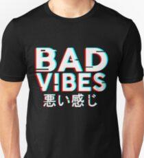 Camiseta unisex Bad Vibes v2