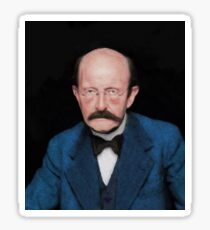 Max Planck, Famous Scientist Sticker