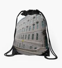 Quebec City, #QuebecCity, #Quebec, #City, #Canada, #buildings, #streets, #places, #views, #nature, #people, #tourists Drawstring Bag