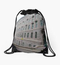 Quebec City, #QuebecCity, #Quebec, #City, #Canada, #buildings, #streets, #places, #views, #nature, #people, #tourists Drawstring Bag