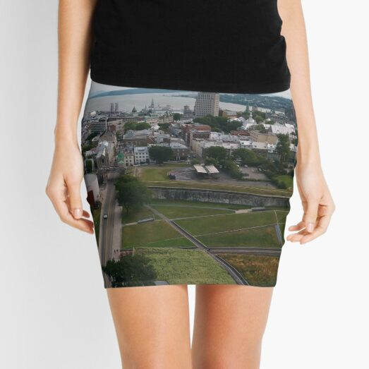 Quebec City, #QuebecCity, #Quebec, #City, #Canada, #buildings, #streets, #places, #views, #nature, #people, #tourists Mini Skirt