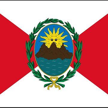 Peru - National Flag - 1821-1822 by CrankyOldDude