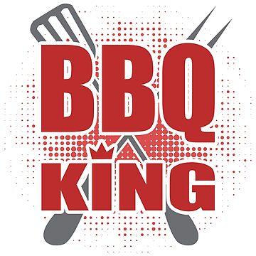 BBQ King by SixtieShirts