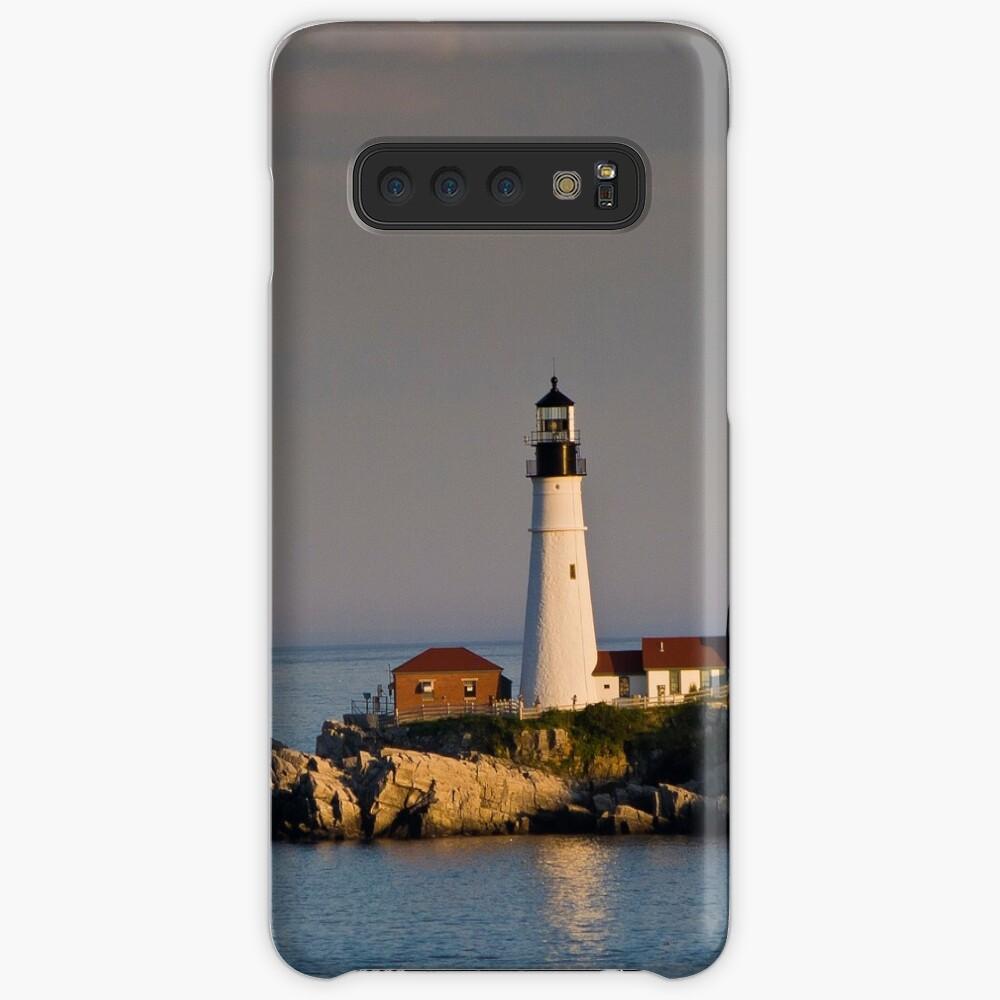 Nordosten Leuchtturm Boston Ostküste Hülle & Klebefolie für Samsung Galaxy