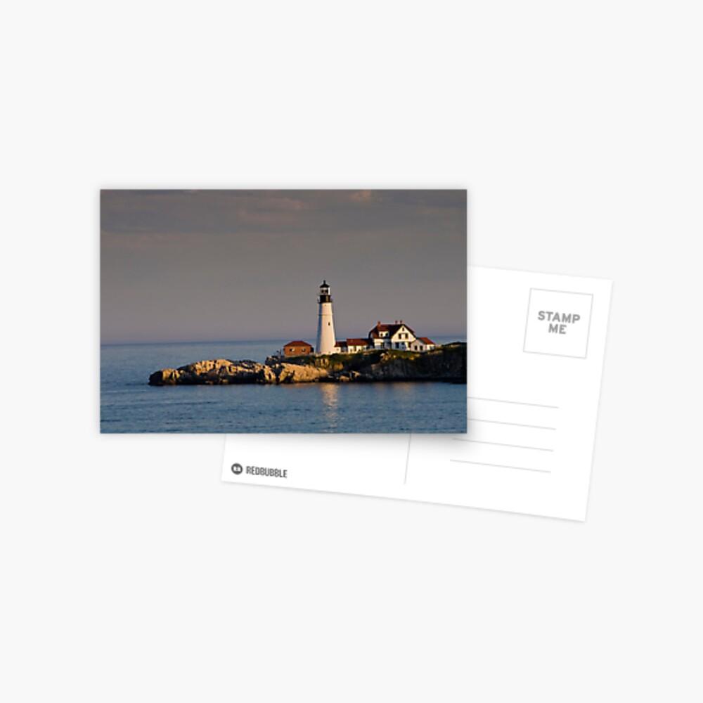 Nordosten Leuchtturm Boston Ostküste Postkarte