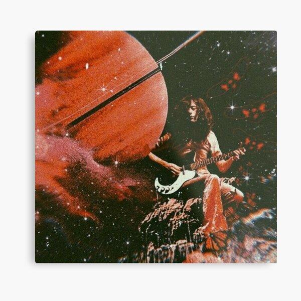 Jimmy & Saturn Metal Print