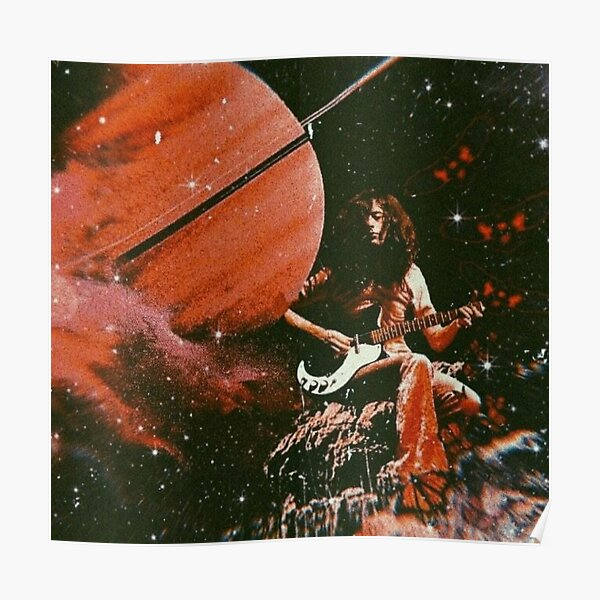 Jimmy & Saturn Poster