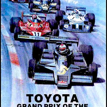WATKINS GLEN : Vintage Toyota Auto Racing Grand Prix Print by posterbobs