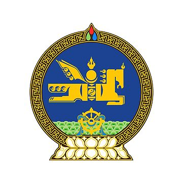 Emblem of Mongolia by fourretout
