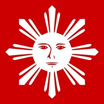 Philippines - Tagalog Flag - 1897-1898 by CrankyOldDude