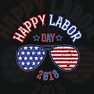 Happy Labor Day -Distressed by 01kath01