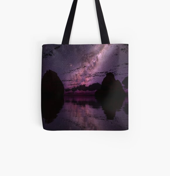 The Distant Lights All Over Print Tote Bag