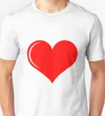 Heart Love Unisex T-Shirt
