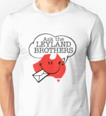 Ask the Leyland Brothers Slim Fit T-Shirt
