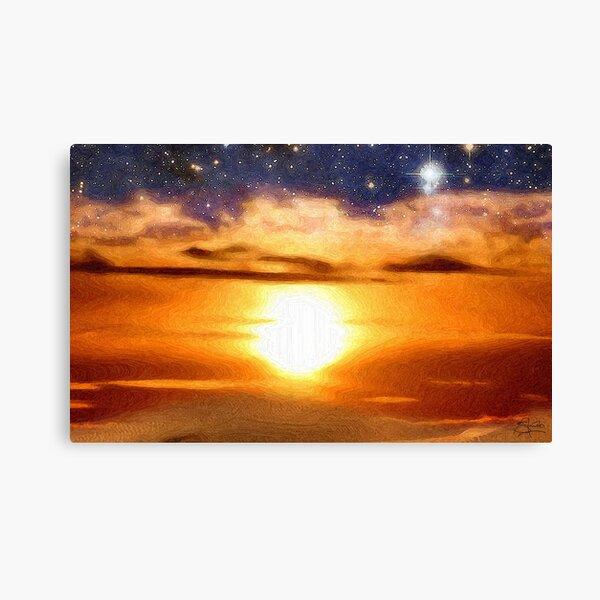 Advent Sunrise Canvas Print