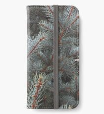 Blue spruce  iPhone Wallet/Case/Skin