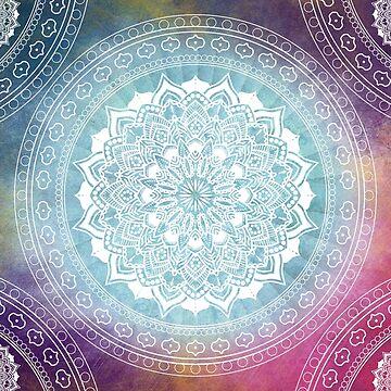 Colourful Mandala Boho Pattern by ImageMonkey