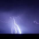 Staccato lightning by Tony Middleton
