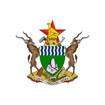 Coat of arms of Zimbabwe by fourretout