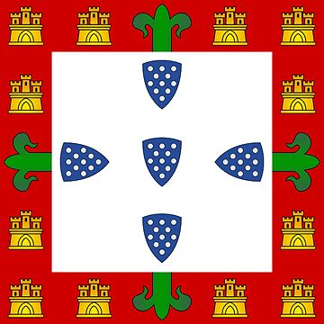Portugal - National Flag - 1385 by CrankyOldDude