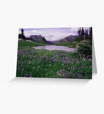 Chinook Tarn Greeting Card