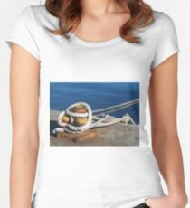 Hope is an anchor Women's Fitted Scoop T-Shirt