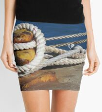 Hope is an anchor Mini Skirt