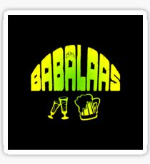 South African Babalaas Hangover  Sticker