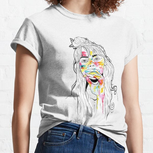 stains on skin Classic T-Shirt