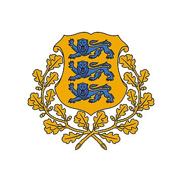 Coat of arms of Estonia by fourretout