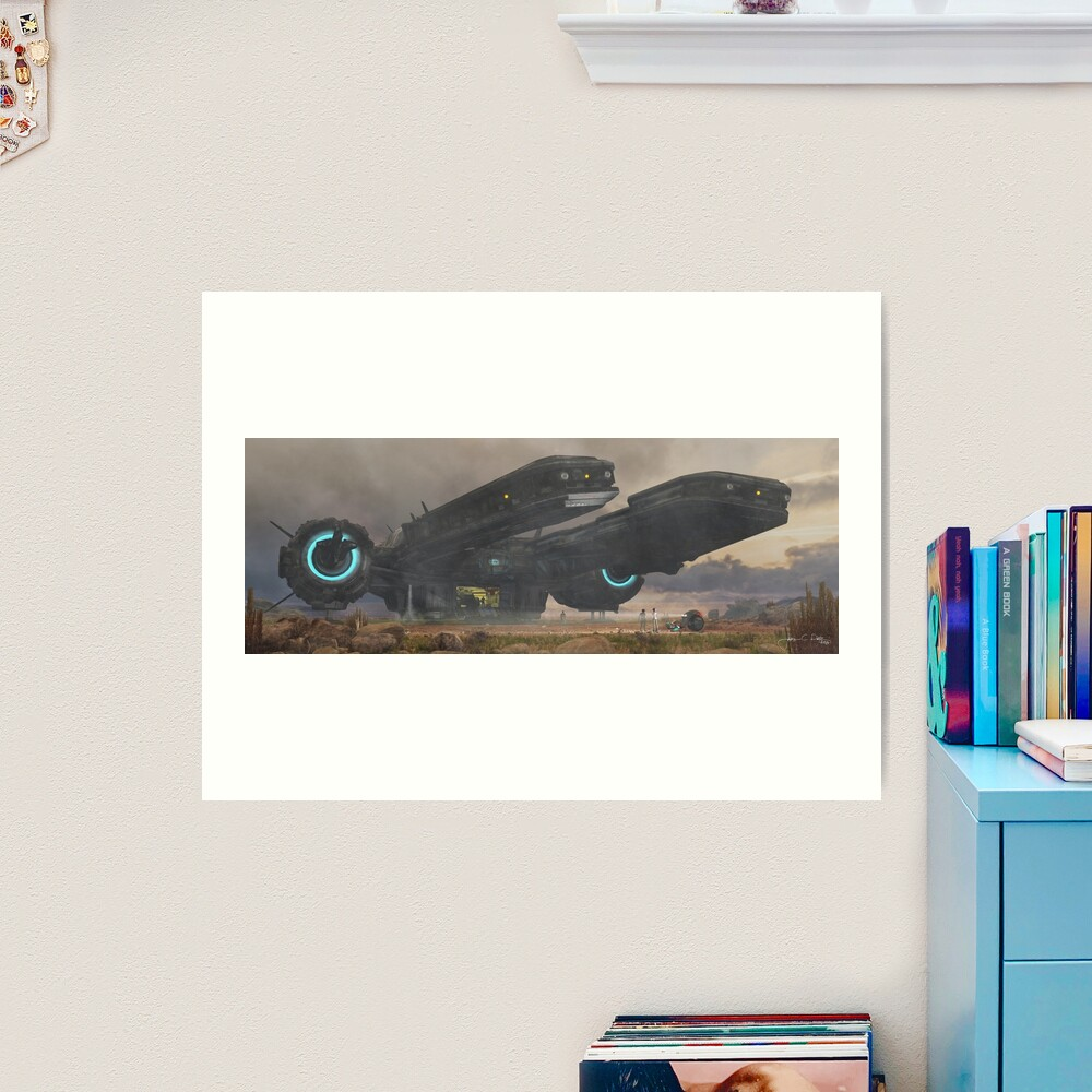 Directions (The Old Road) Art Print