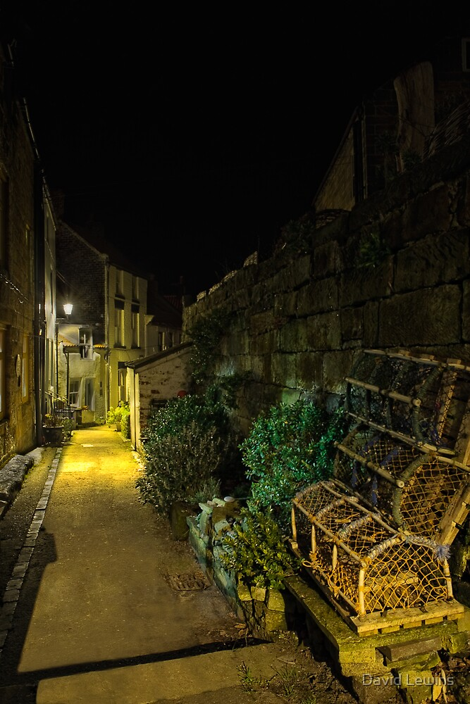 The Narrow Streets of Staithes by David Lewins